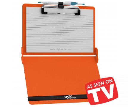 Orange ISO Clipboard Pack