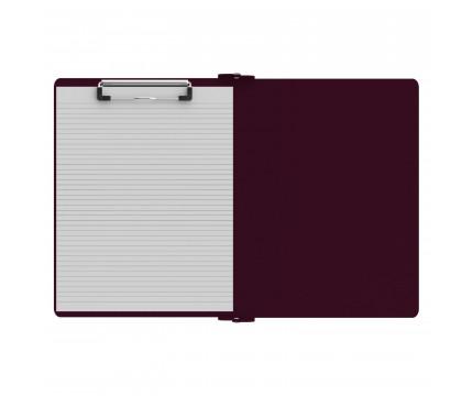 Left Folding Ledger ISO Clipboard   Wine