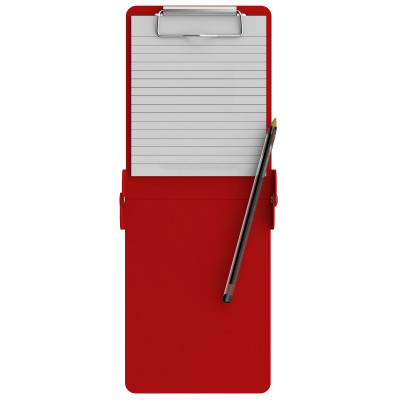 Folding Server ISO Clipboard | Red