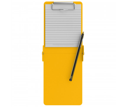 Folding Server ISO Clipboard | Yellow