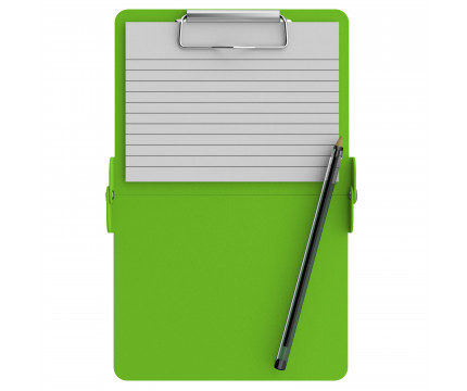 Lime Green Mini ISO Clipboard