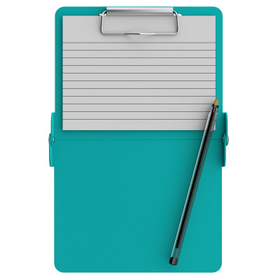 Teal Mini ISO Clipboard