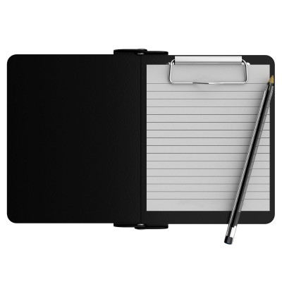 Black Mini Novel ISO Clipboard