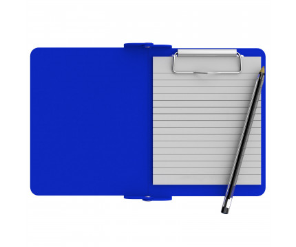 Blue Mini Novel ISO Clipboard