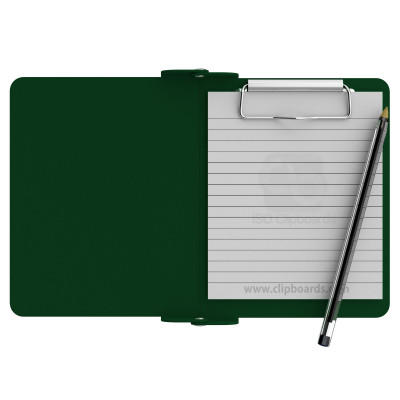 Green Mini Novel ISO Clipboard - Slightly Damaged