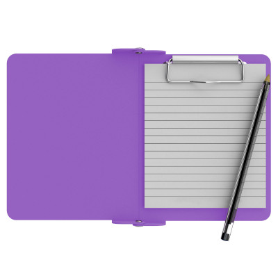 Lilac Mini Novel ISO Clipboard