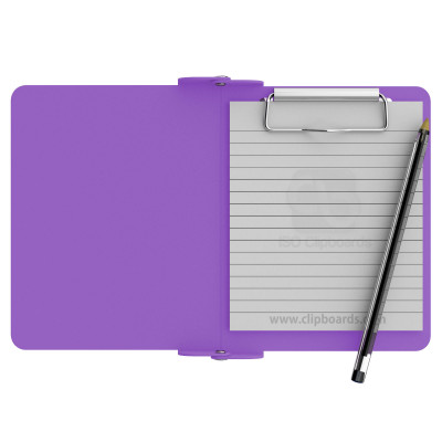 Lilac Mini Novel ISO Clipboard - Slightly Damaged