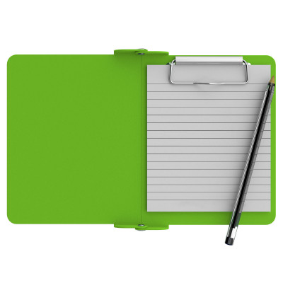 Lime Green Mini Novel ISO Clipboard