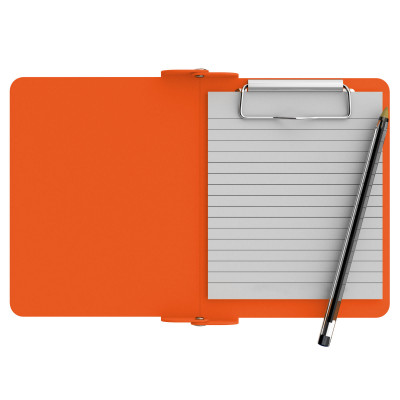 Orange Mini Novel ISO Clipboard