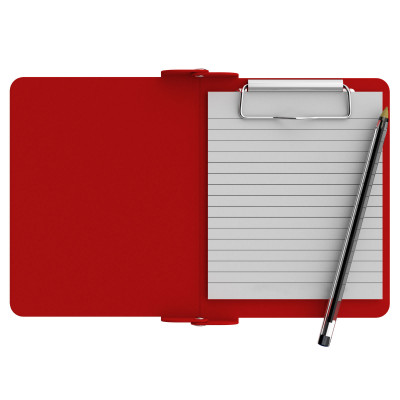 Red Mini Novel ISO Clipboard