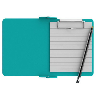 Teal Mini Novel ISO Clipboard