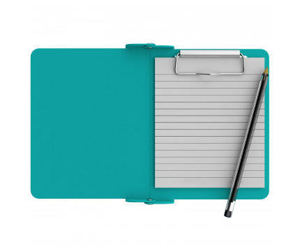 Teal Mini Novel ISO Clipboard