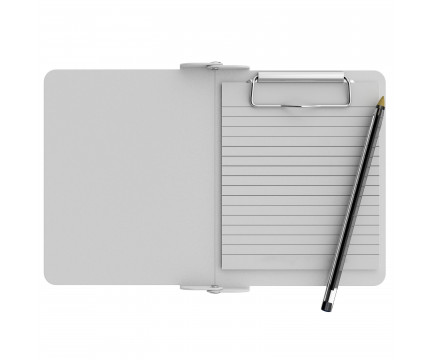 White Mini Novel ISO Clipboard