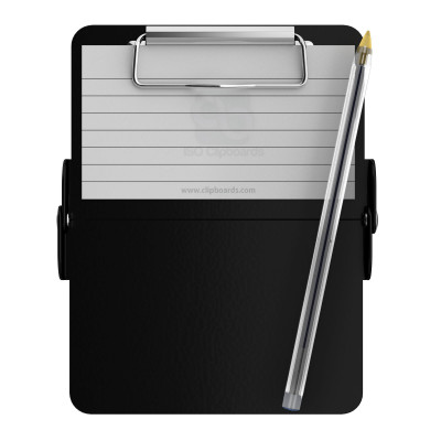 Nano ISO Clipboard | Black - Slightly Damaged