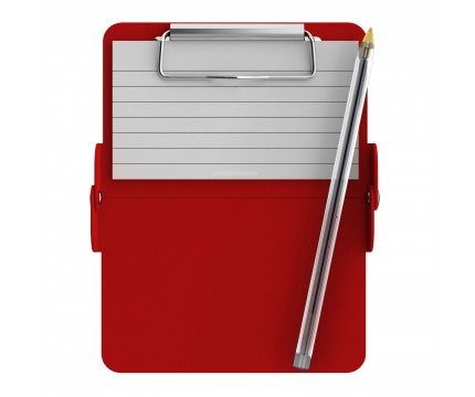 Nano ISO Clipboard | Red