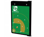 Black Baseball ISO Clipboard