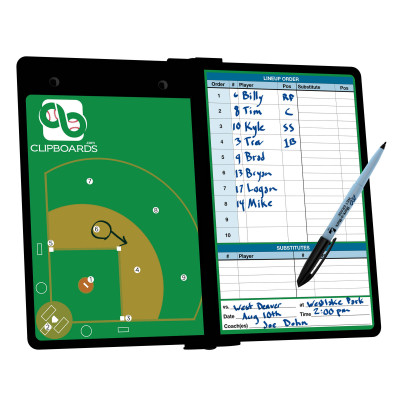 Blackout Baseball ISO Clipboard
