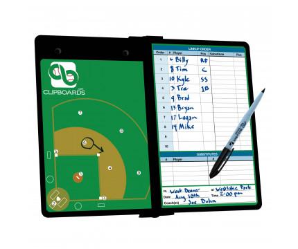 Blackout Baseball ISO Clipboard