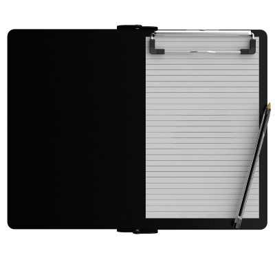 Folding Memo ISO Clipboard | Black