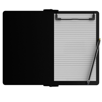 Folding Memo ISO Clipboard | Blackout