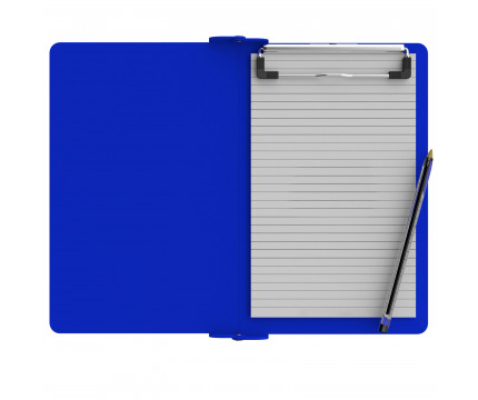 Folding Memo ISO Clipboard | Blue