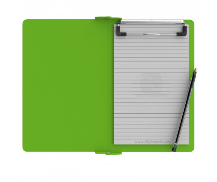 Folding Memo ISO Clipboard | Lime Green
