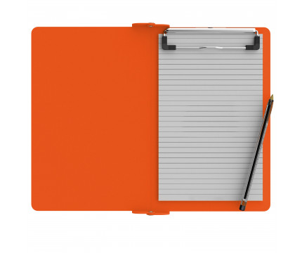 Folding Memo ISO Clipboard | Orange