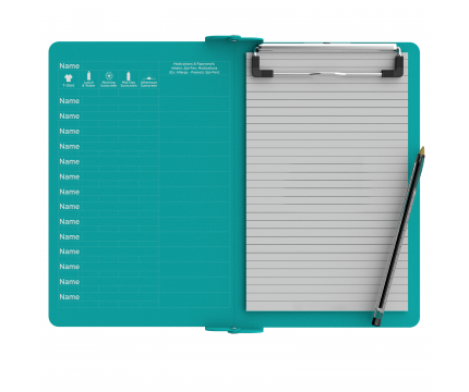 Camp ISO Clipboard | Teal