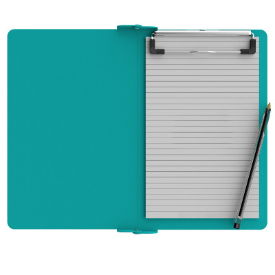 Folding Memo ISO Clipboard | Teal