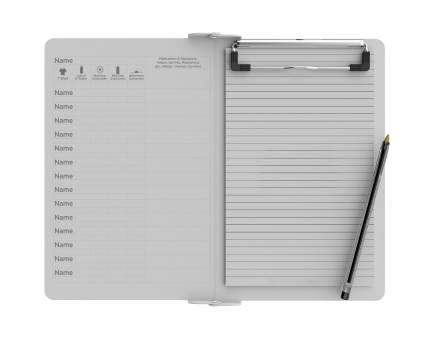 Camp ISO Clipboard | White