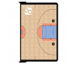 Black Basketball ISO Clipboard