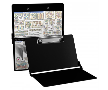 Aluminum Needlework Clipboard - Black