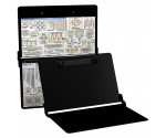 Aluminum Needlework Clipboard - Blackout
