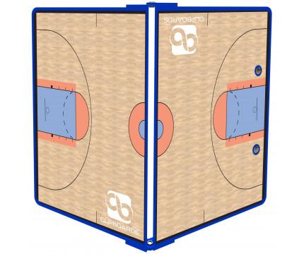 Blue Basketball ISO Clipboard