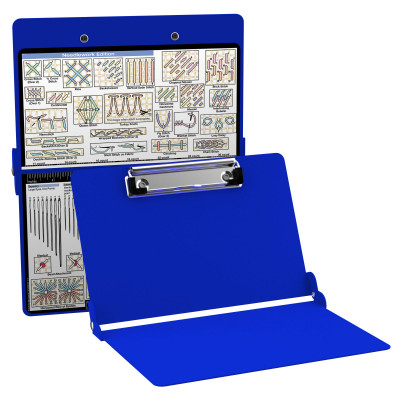 Aluminum Needlework Clipboard - Blue