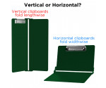 WhiteCoat Clipboard - GREEN - Medical Edition - Slightly Damaged