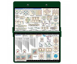 Steel Needlework Clipboard - Green