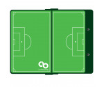 Green Soccer ISO Clipboard
