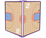 Lilac Basketball ISO Clipboard
