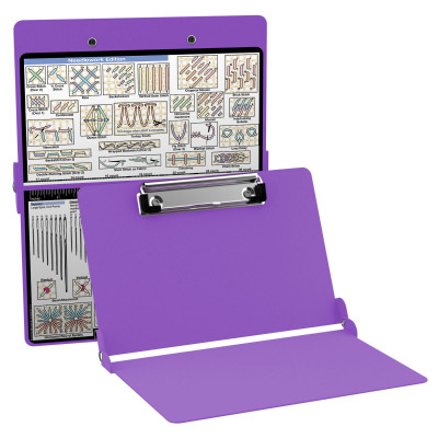 Aluminum Needlework Clipboard - Lilac