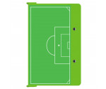 Lime Green Soccer ISO Clipboard