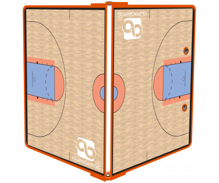 Orange Basketball ISO Clipboard