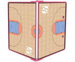 Pink Basketball ISO Clipboard