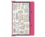 Aluminum Needlework Clipboard - Pink