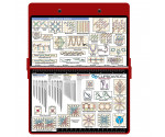 Aluminum Needlework Clipboard - Red