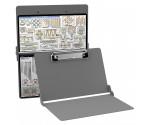 Aluminum Needlework Clipboard - Silver