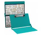 Aluminum Needlework Clipboard - Teal