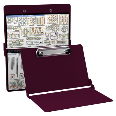 Aluminum Needlework Clipboard - Wine