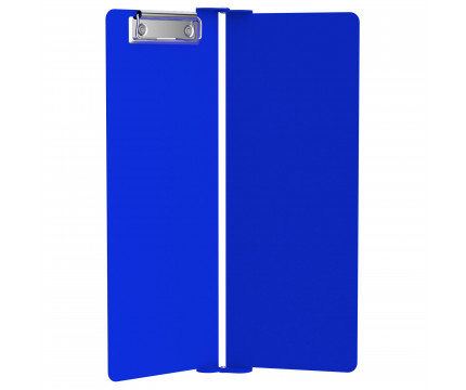 Blue Vertical ISO Clipboard - Slightly Damaged
