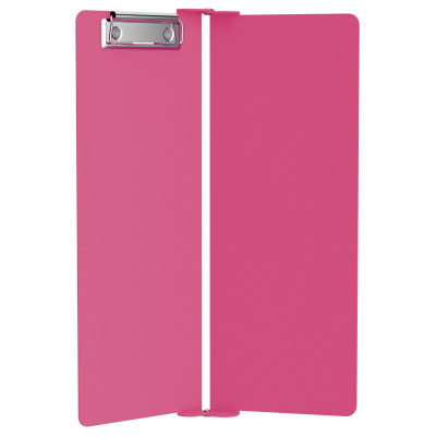 Pink Vertical ISO Clipboard